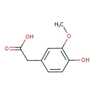 2-(4-hydroxy-3-methoxyphenyl)acetic acid