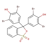3,3-bis(3,5-dibromo-4-hydroxyphenyl)-3H-2,1λ⁶-benzoxathiole-1,1-dione