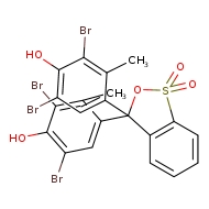 3,3-bis(3,5-dibromo-4-hydroxy-2-methylphenyl)-3H-2,1λ⁶-benzoxathiole-1,1-dione
