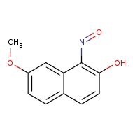 7-methoxy-1-nitrosonaphthalen-2-ol