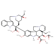 methyl (1R,9R,10S,11R,12R,19R)-11-(acetyloxy)-12-ethyl-4-[(13S,15R,17S)-17-ethyl-17-hydroxy-13-(methoxycarbonyl)-1,11-diazatetracyclo[13.3.1.0⁴,¹².0⁵,¹⁰]nonadeca-4(12),5,7,9-tetraen-13-yl]-10-hydroxy-5-methoxy-8-methyl-8,16-diazapentacyclo[10.6.1.0¹,⁹.0²,⁷.0¹⁶,¹⁹]nonadeca-2,4,6,13-tetraene-10-carboxylate