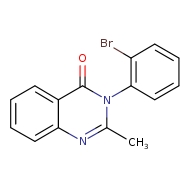 3-(2-bromophenyl)-2-methyl-3,4-dihydroquinazolin-4-one