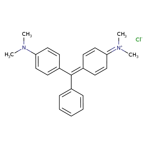 4-{[4-(dimethylamino)phenyl](phenyl)methylidene}-N,N-dimethylcyclohexa-2,5-dien-1-iminium chloride