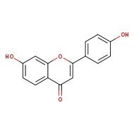7-hydroxy-2-(4-hydroxyphenyl)-4H-chromen-4-one