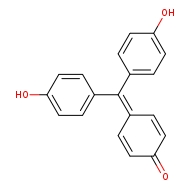 4-[bis(4-hydroxyphenyl)methylidene]cyclohexa-2,5-dien-1-one