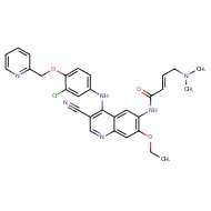 (2E)-N-[4-({3-chloro-4-[(pyridin-2-yl)methoxy]phenyl}amino)-3-cyano-7-ethoxyquinolin-6-yl]-4-(dimethylamino)but-2-enamide