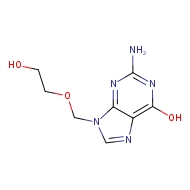 2-amino-9-[(2-hydroxyethoxy)methyl]-9H-purin-6-ol