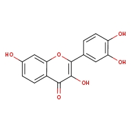 2-(3,4-dihydroxyphenyl)-3,7-dihydroxy-4H-chromen-4-one