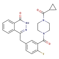 4-{[3-(4-cyclopropanecarbonylpiperazine-1-carbonyl)-4-fluorophenyl]methyl}-1,2-dihydrophthalazin-1-one