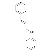 n-[(2e)-3-phenylprop-2-en-1-yl]aniline